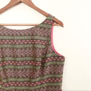 ** Adrianna Papell ** woven beaded spring dress